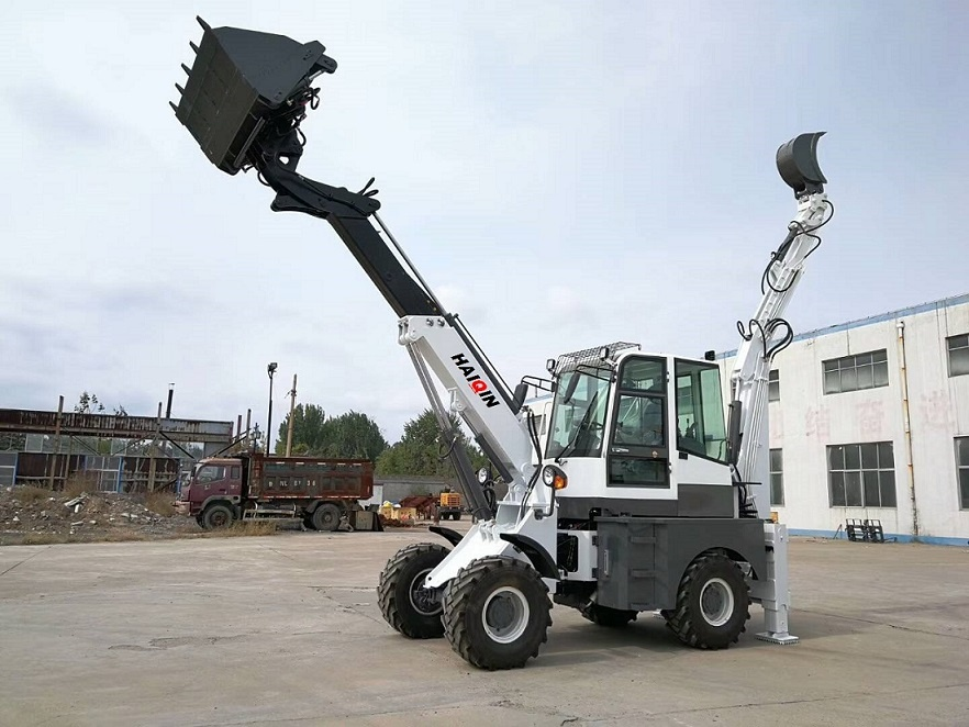 Mini Backhoe Loader (WZ15-10)