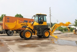 Large Backhoe Loader HQ40-28