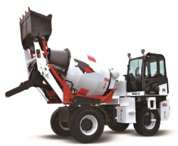 2.4m3 Self-Loading Mobile Concrete mixer