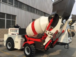 1.0m3 Small mobile concrete mixer