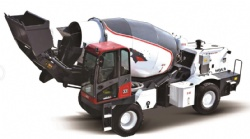 5.0m3 Self Loading mobile concrete mixer