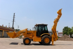 Strong Backhoe Loader HQM388