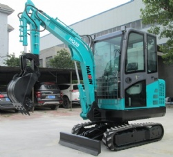 Small Crawler excavator ( HQ20) with Cabin